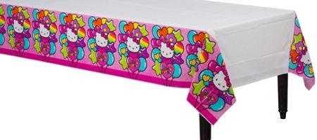 Rainbow Hello Kitty Table Cover