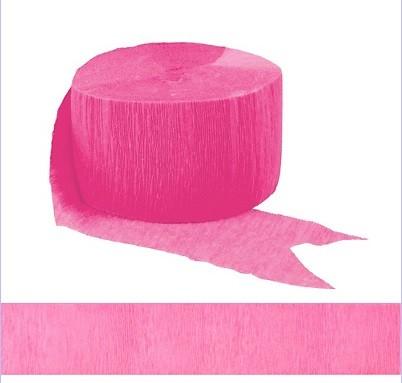 Hot Pink Streamer