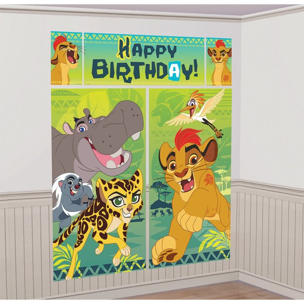 THE LION GUARD WALL DECORATING KIT (5 PIECES)