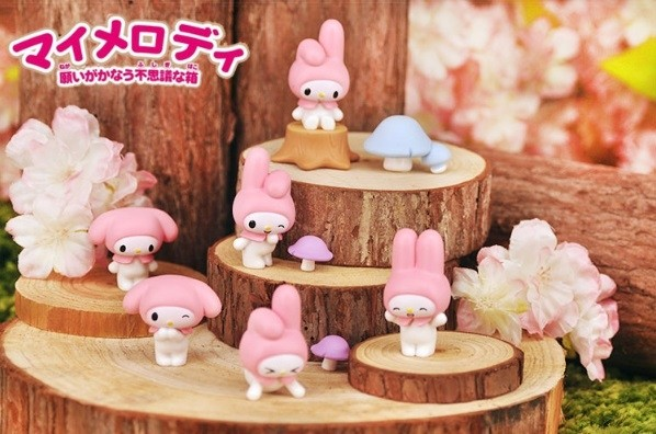 My Melody 10pcs Figurines Cake Topper