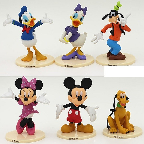 Disney Mickey Mouse Clubhouse Figurine Cake Topper Baby Mickey