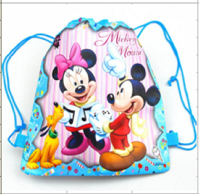 Mickey & Minnie Mouse Draw String Favor Bag