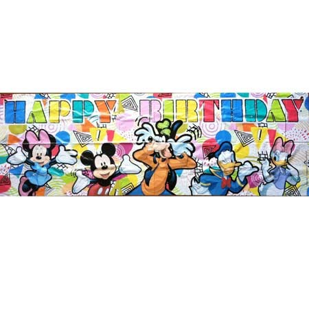 Mickey & Friends Party Giant Banner
