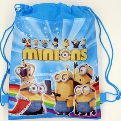 Minions Drawstring Bag