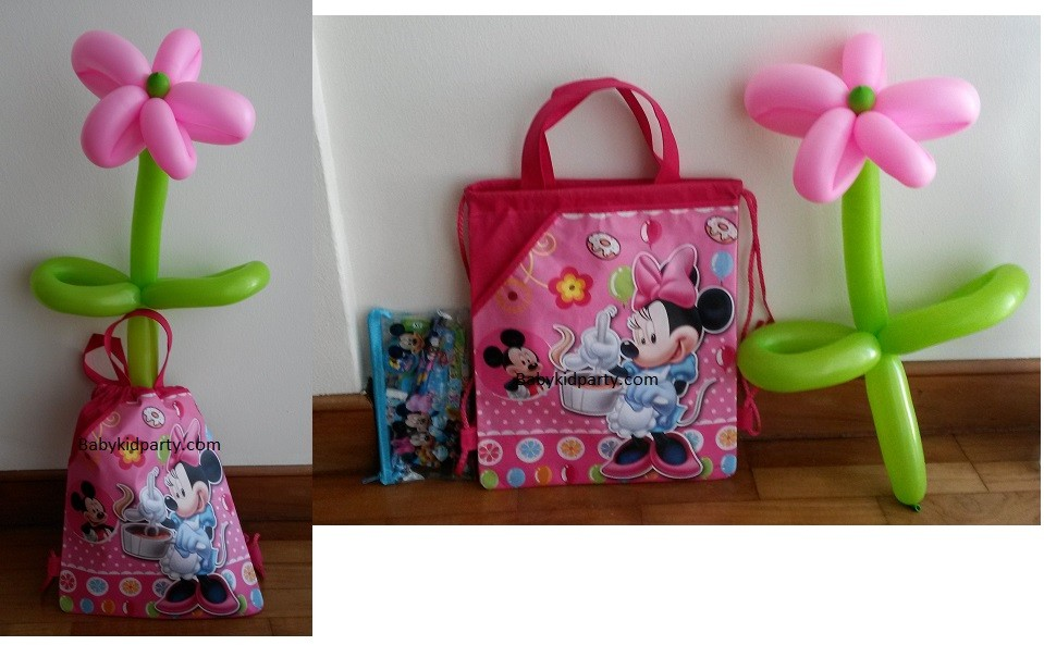 Minnie Mouse Favor Pack with Balloon
