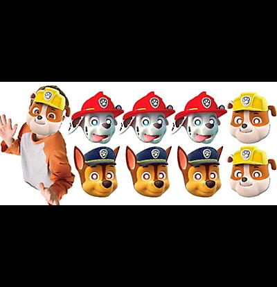 PAW Patrol Paper Masks 8pcs