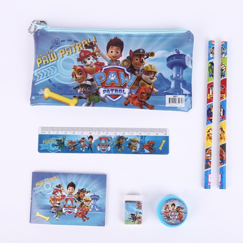 Paw Patrol 7pcs stationary set