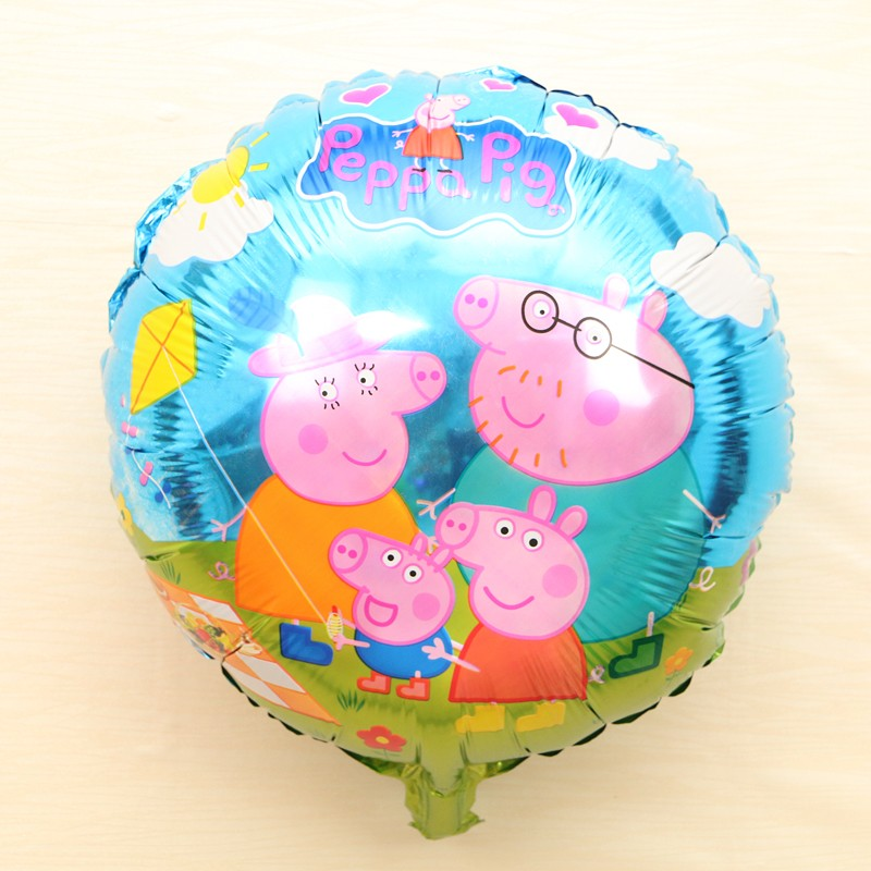18in Peppa Pig & Family Foil Balloon
