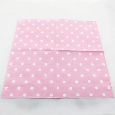 Polka Dot Pink Paper Napkin 20pcs