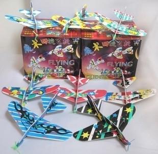 Styrofoam Flying Plane Toy 6pcs