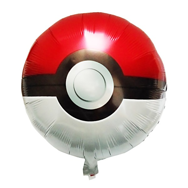 18in Pokemon Ball Foil Balloon