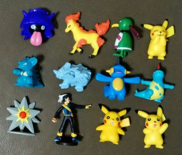 Pokemon Figure Cake Topper Set 3- 12pcs