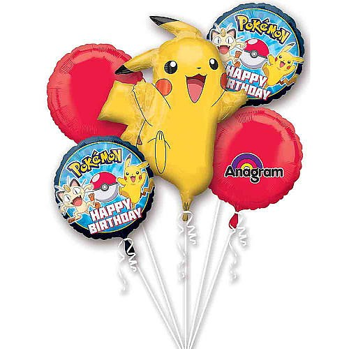 Pokemon Balloon Bouquet