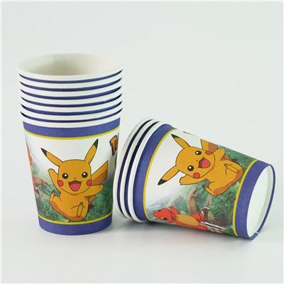 Pokemon Paper Cups
