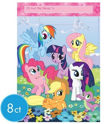 My Little Pony Favor Bags 8pcs