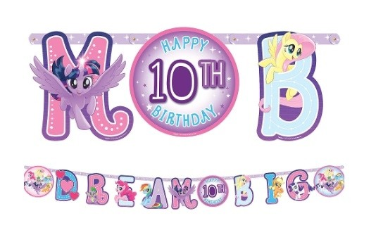 My Little Pony Birthday Banner Kit