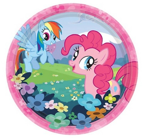 My Little Pony Dessert Plates 8pcs