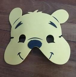 Pooh Foam Face Masks