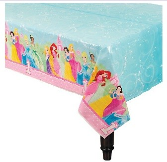 Disney Princess 1st Table Cover 54in x 102in