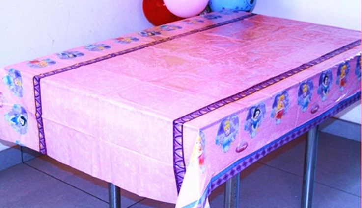 Disney Princess Table Cover 1.3x1.8cm
