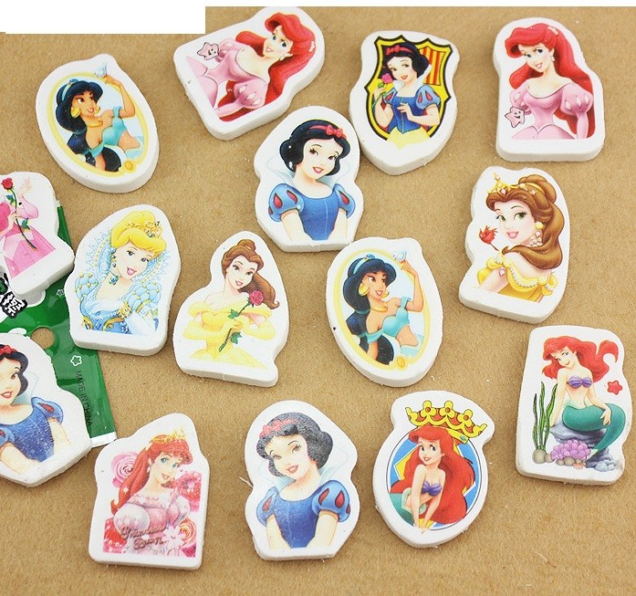 Disney Princess Eraser 6pcs per pack