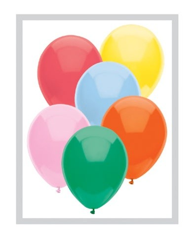 "12"" Standard Assorted Latex Balloons"