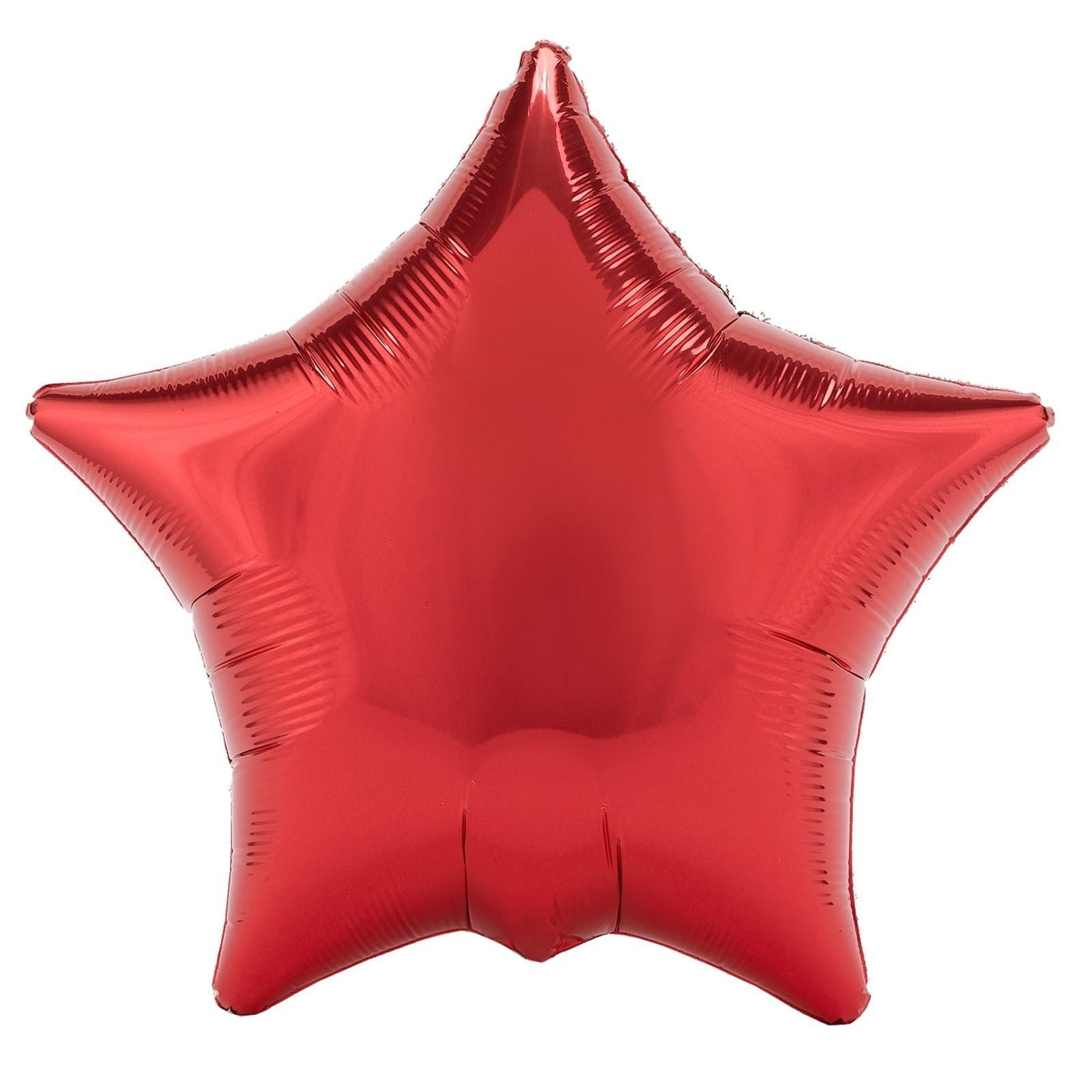 "18"" Red Star Balloon"
