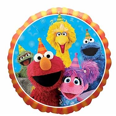 """18"""" Sesame Street Gang Balloon"""