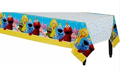 Sesame Street Table Cover 54in x 96in
