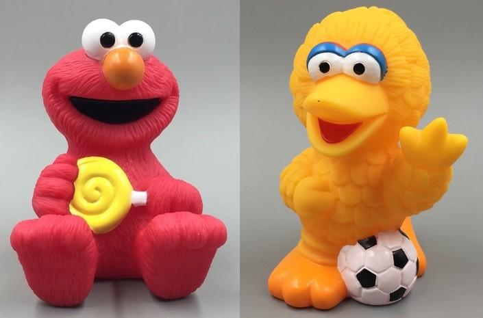 Sesame Street Cake Topper 2pcs Set