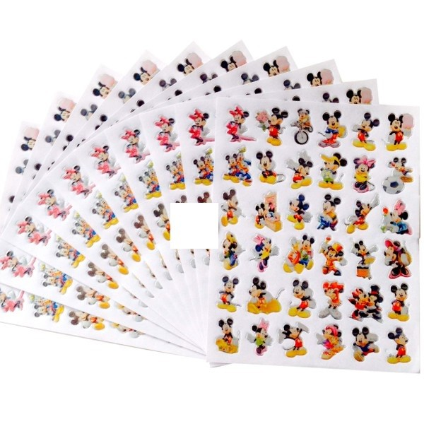 Mickey Stickers 10 sheets per pack