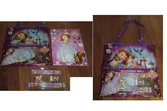 Sofia the First Stationary Bag Set