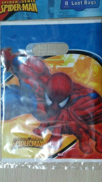 Spider-Man treat bags 8pcs