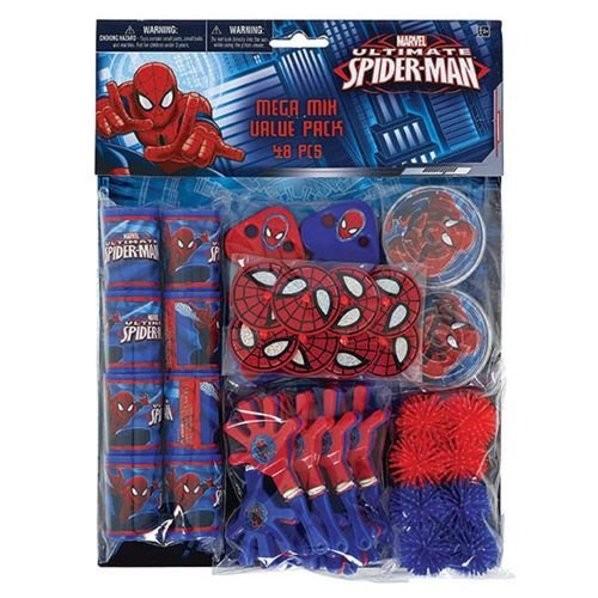 Spider-Man Favor Pack 48pcs