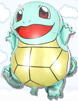 25in Squirtle Foil Balloon