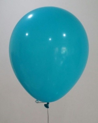 "12"" Turquoise Colour Latex Balloons"