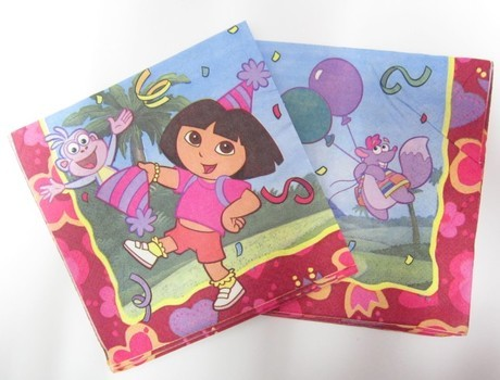 Dora & Friends Beveages Napkins