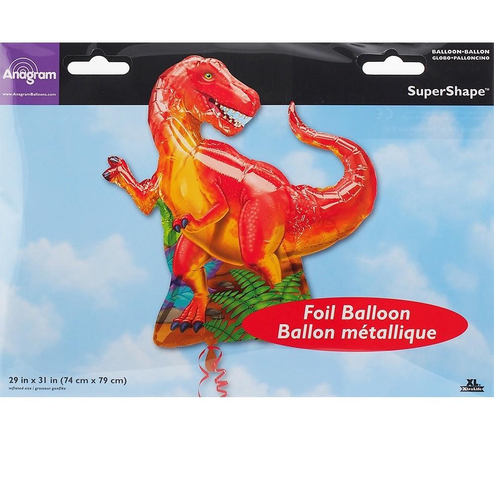 31in T-Rex Foil Balloon