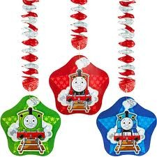 Thomas the Tank Engine Hanging Decorations 3pcs