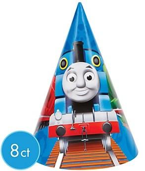 Thomas the Train Cone Hats 8ct