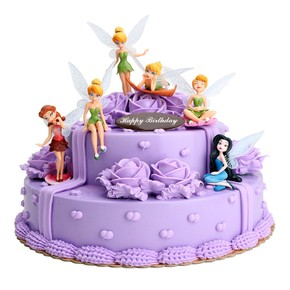 Tinker Bell 6pcs Cake Figures Topper