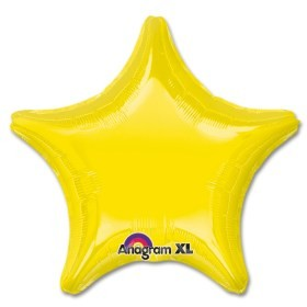 "18"" Yellow Star Balloon"