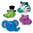 Jungle Animal Party CupCake Rings