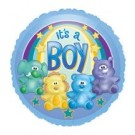 "18"" Zoo Baby Boy Foil Balloon"