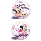 22in BUBBLES Minnie 1st Birthday Balloon