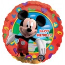 "18"" Mickey Clubhouse Happy Birthday Foil Balloon"