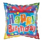 "18"" Happy Birthday Present Foil Balloon"