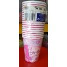 1st Birthday Princess Cups 18pcs