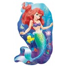 "30"" Ariel Little Mermaid & Friends Jumbo Balloon"
