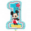 28in Mickey 1st Foil Balloon